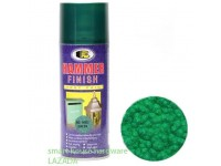BOSNY H002 GREEN HAMMER FINISH SPRAY PAINT
