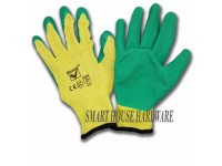 2 PAIRS PICASAF LATEX COATED GLOVE