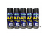 5 BOTTLE HARDEX 400ML HD-440 4D MULTIPURPOSE PENETRANT & LUBRICANT SPRAY