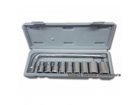 YD-1002# 10PCS SOCKET WRENCH SET