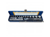 "M10 313M 3/8"" DR.17PCS SOCKET WRENCH SET-6PT"