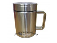 STAINLESS STEEL VACUUM OFFICE CUP