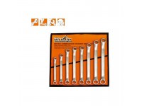 MK-TOL-10108M 8 PCS 45° DOUBLE RING WRENCH SET