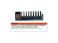 MK-SET-BIT001 09 PCS BIT SOCKET SET (84016M)