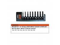 MK-SET-BIT002 09 PCS BIT SOCKET SET (84014)