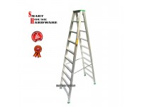 10 STEP DOUBLE SIDED ALUMINIUM LADDER(TANGGA LIPAT)