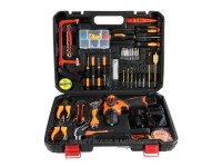 MARK-X 16V LITHIUM CORDLESS DRILL DRIVER C/W 46PCS TOOLS KIT