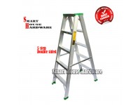 STRONG MAN 5 STEPS DOUBLE SIDES LADDER