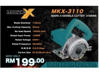 MARK X MKS-3110 MARBLE CUTTER (110MM)