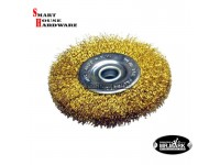 "MR.MARK MK-WEL-13002 4"" STEEL WIRE WHEEL BRUSH FLEXIBLE TYPE(100M)"