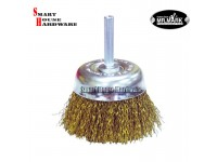 "MR.MARK MK-WEL-13003 2"" CUP BRUSH FOR USE ON DRILLS AND HIGH SPEED ELECTRIC TOOLS"