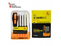 LECHGTOOLS 8PCS MULTI-FUNCTIONAL SCREWDRIVER