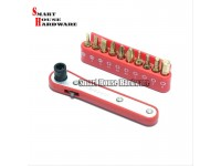 M10 10PCS RATCHET WRENCH SET RS10