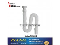 "ISANO 1 1/2"" PVC FLEXIBLE BASIN TRAP"